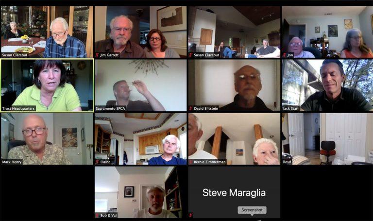 August Meeting is in the Vineyard