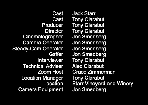Movie Credits Well Deserved
